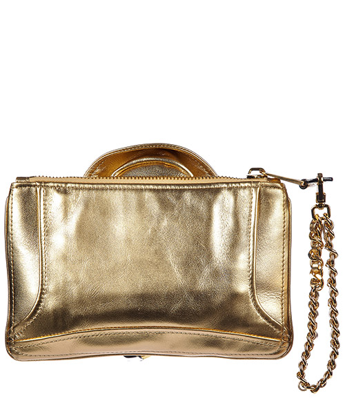 Women's leather clutch handbag bag purse secondary image