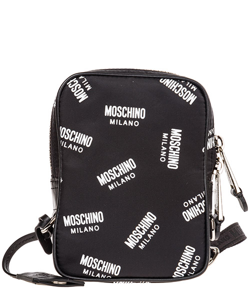 Borsa a tracolla Moschino boston a740382031555 nero