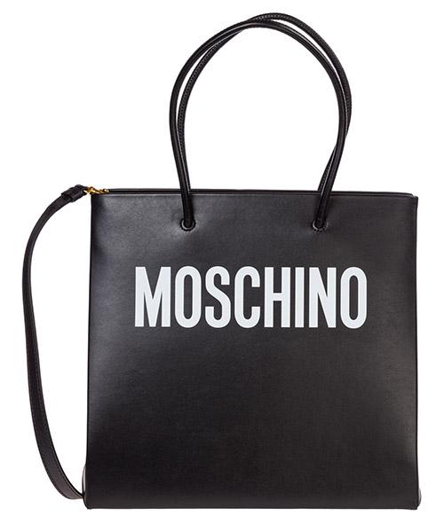Borsa a spalla Moschino a741480011555 nero