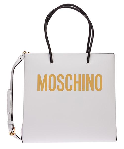 Schultertasche Moschino a741480014001 bianco