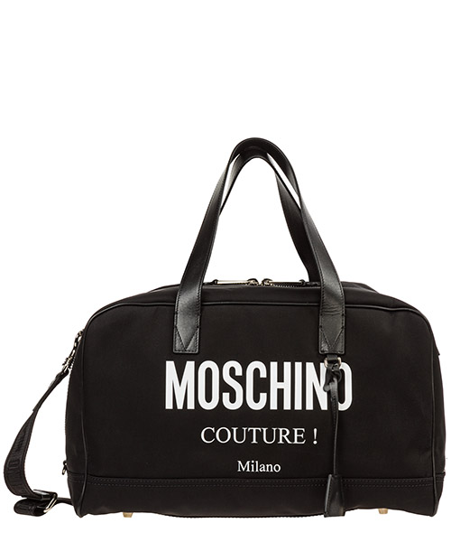 Спортивная сумка Moschino Boston A742082012555 nero