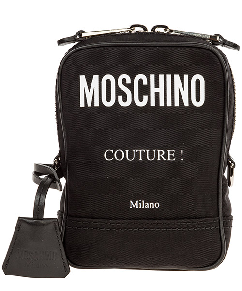 Crossbody bags Moschino A742582012555 nero