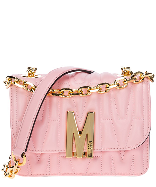 Bolsa de asa larga Moschino m A742980020242 rosa