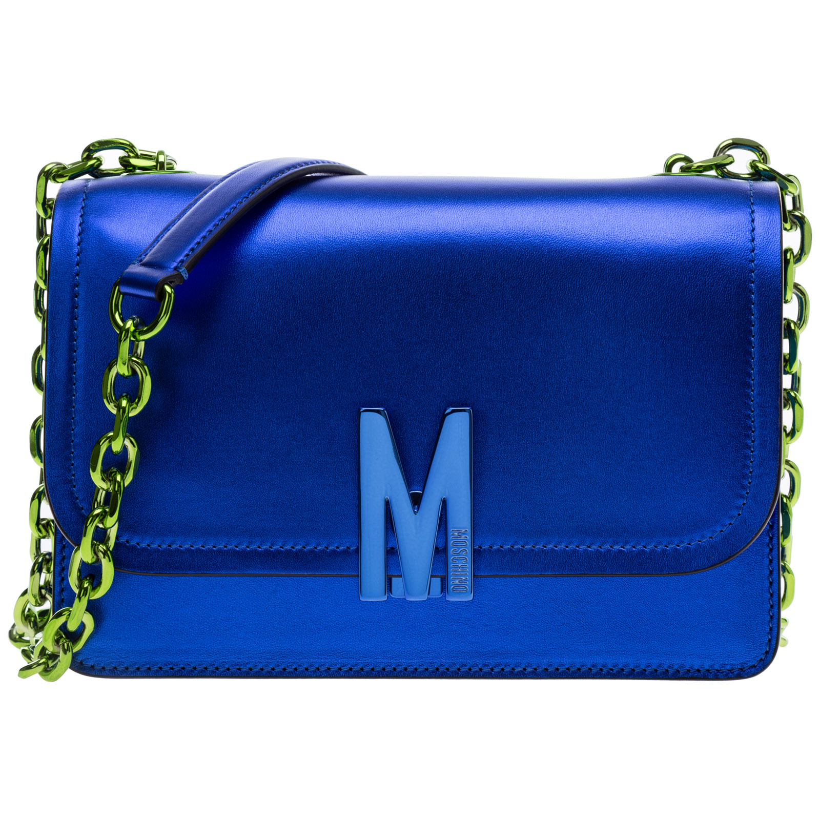 Moschino Shoulder bags WOMEN'S LEATHER SHOULDER BAG M