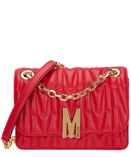 Schultertasche Moschino m a745180020112 rosso