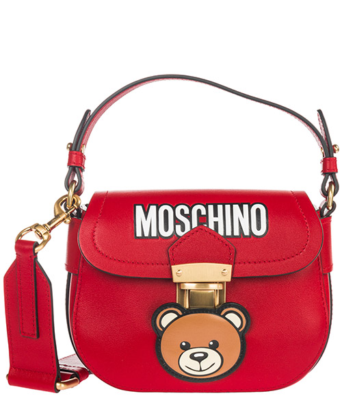 Crossbody bag Moschino Teddy 1917 A746080061115 rosso