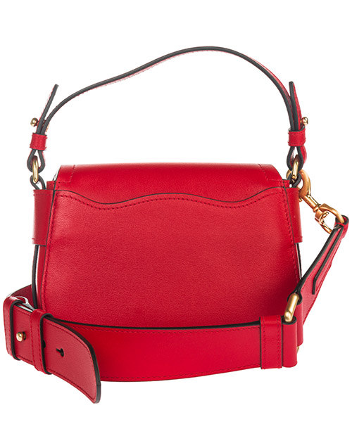 Women's leather cross-body messenger shoulder bag teddy secondary image