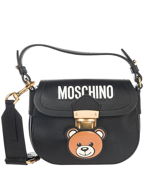 Crossbody bag Moschino Teddy A746080061555 nero