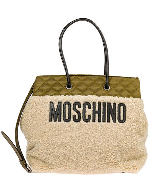 Borsa a spalla Moschino a748282131007 verde