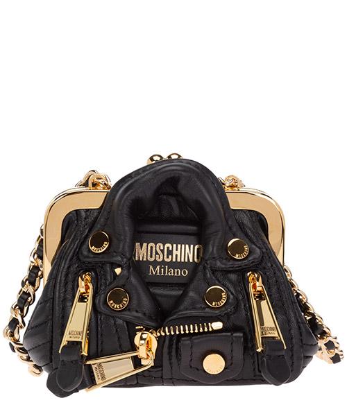 Shoulder bag Moschino A748680021555 nero