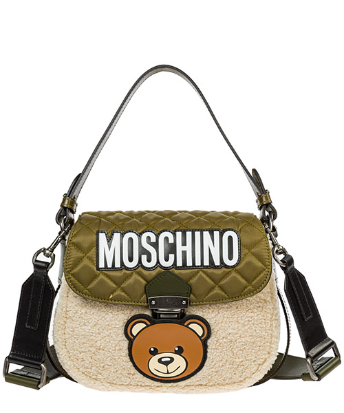 Shoulder bag Moschino a748682132007 verde