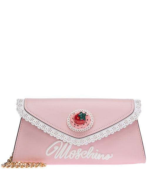 Clutch Moschino A74988001224 rosa