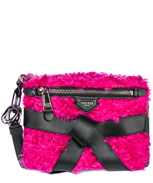 Shoulder bag Moschino 1822 A756482133209 rosa