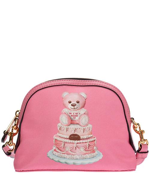 Umhängetasche Moschino cake teddy bear a756582131207 rosa