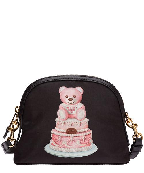 Umhängetasche Moschino cake teddy bear a756582131555 nero