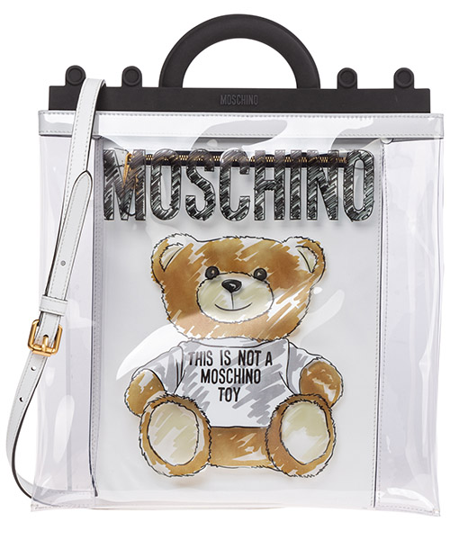 Handbags Moschino Teddy Bear A758382231001 nero