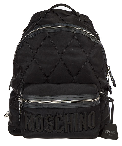 Backpack Moschino A760382011555 nero