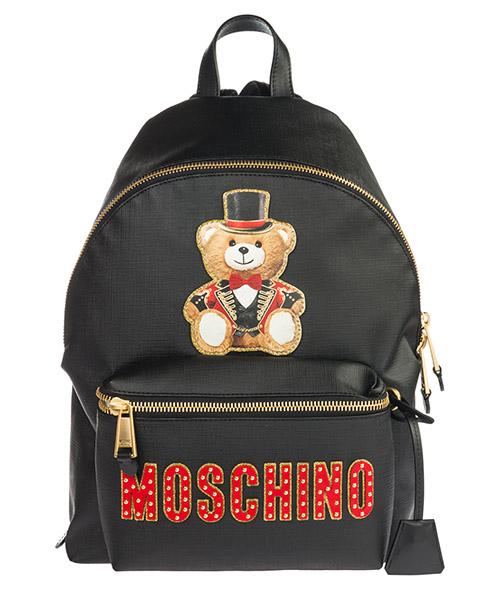 Rucksack Moschino Teddy Circus 1917 A763282101555 nero