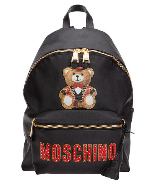 Рюкзаки Moschino roman teddy bear A 7632 8210 1555 nero