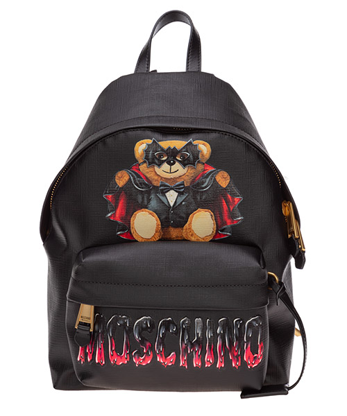 Backpack Moschino Roman Teddy Bear A763382101555 nero