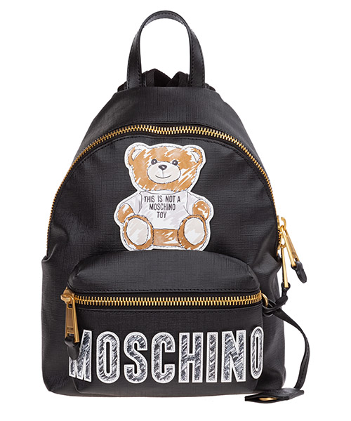 Рюкзаки Moschino teddy bear a763682102555 nero