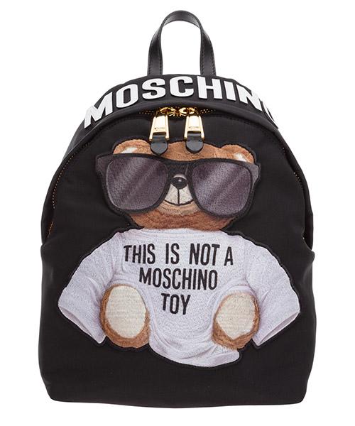 Rucksack Moschino teddy bear a763682121555 nero