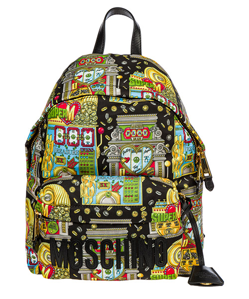 Backpack Moschino Slot Machine A764082191888 nero