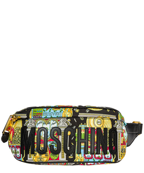 Bum bag Moschino Slot Machine A772782191888 nero
