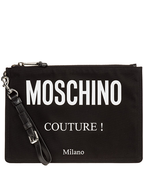 Document holder Moschino A840482012555 nero
