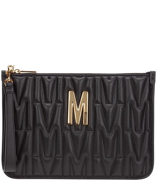 Clutch bag Moschino M A841580021555 nero