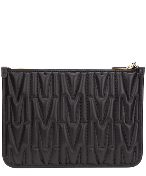 Women's leather clutch handbag bag purse  m secondary image