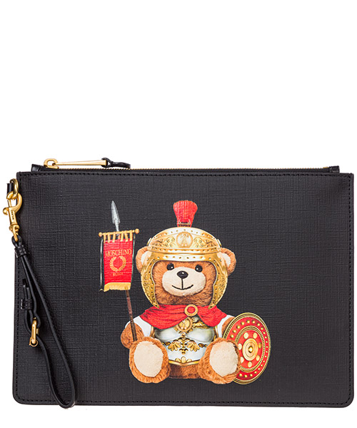 Клатч Moschino roman teddy bear A842982101555 nero