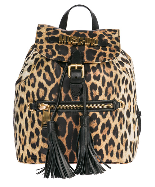 Women's rucksack backpack travel  leopard