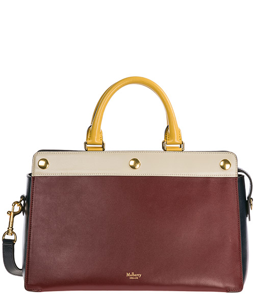 Сумка Mulberry Chester HH4118-353Z617 crimson - chalk - sunf