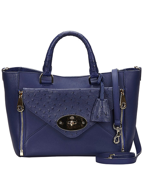 Handbags Mulberry Pre-Owned 8BMBTO001 blu