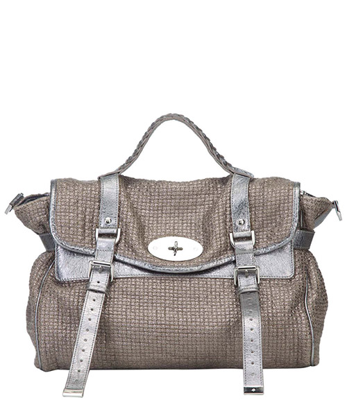 Shoulder bag Mulberry Pre-Owned 8GMBST006 beige