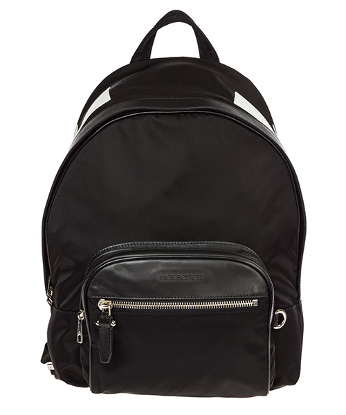 Backpack Neil Barrett Big bolts PBBO201BM9107 524 black / white