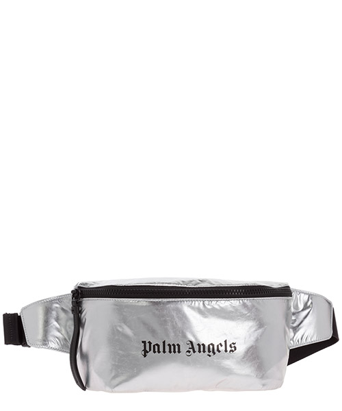 Bum bag Palm Angels fanny PMNA030E20FAB0017210 argento