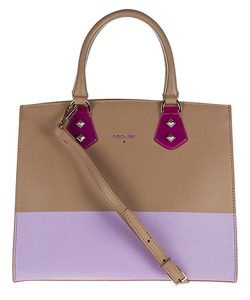 Handbag Patrizia Pepe 2V6087 A2OV X1TU noisette / lilac