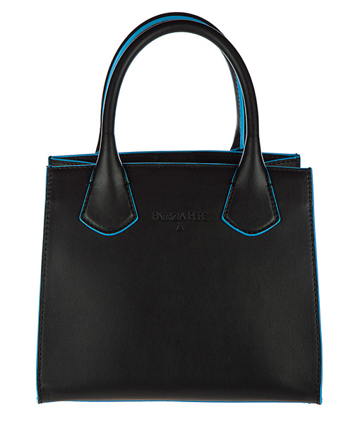 Shopping bag Patrizia Pepe 2V6268 A2QF I2M6 black / sky azure