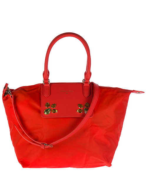Shopping Bag Patrizia Pepe 2V6581 A2NH R529 orange / red studs