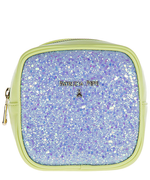 Clutch Patrizia Pepe 2V6974 A2QL I2Q0 lilac glitter / green