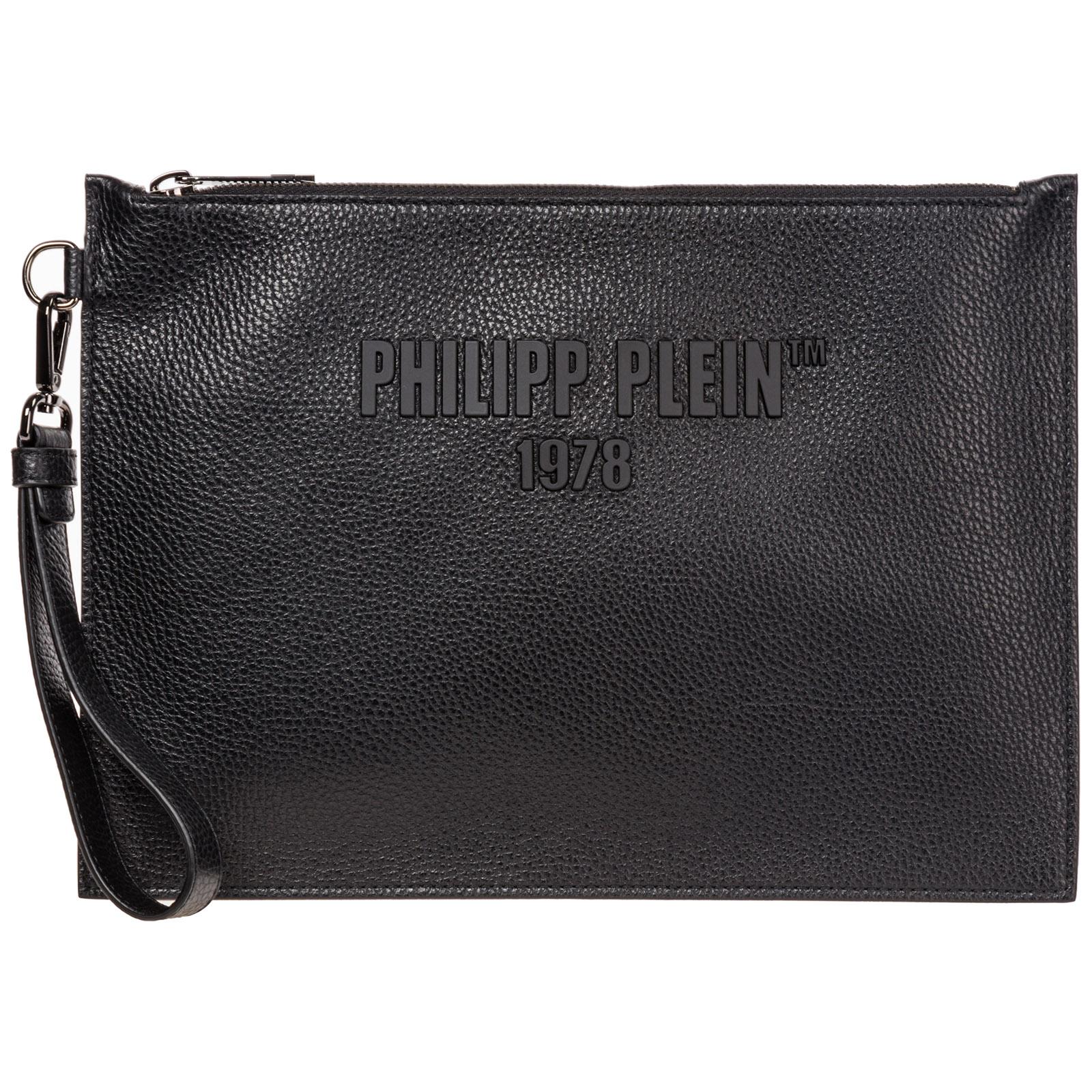Philipp Plein MEN'S BAG HANDBAG GENUINE LEATHER  PP1978