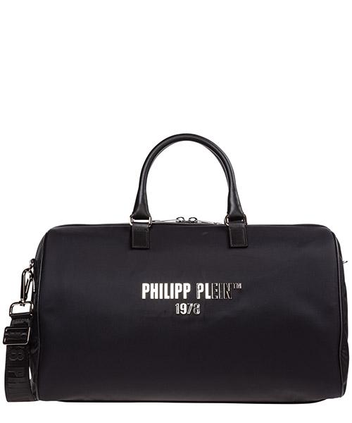 Borsone da viaggio Philipp Plein a19a-mbd0164-pco019n nero