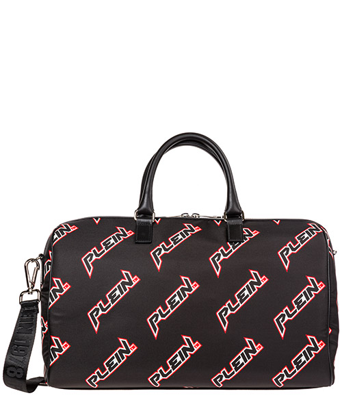 Duffle bag Philipp Plein Space Plein A19A-MBD0180_PLE096N_02 black
