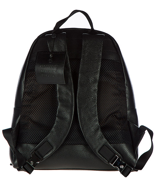 Men's leather rucksack backpack travel  accra secondary image