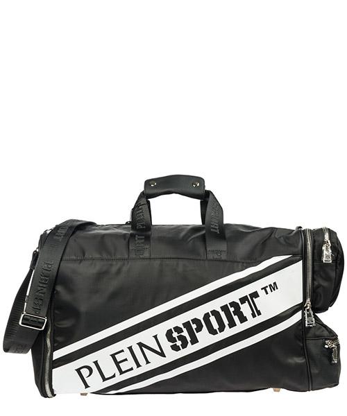 Bolso de viaje Plein Sport S19A MBD_0121 STE003N black - white