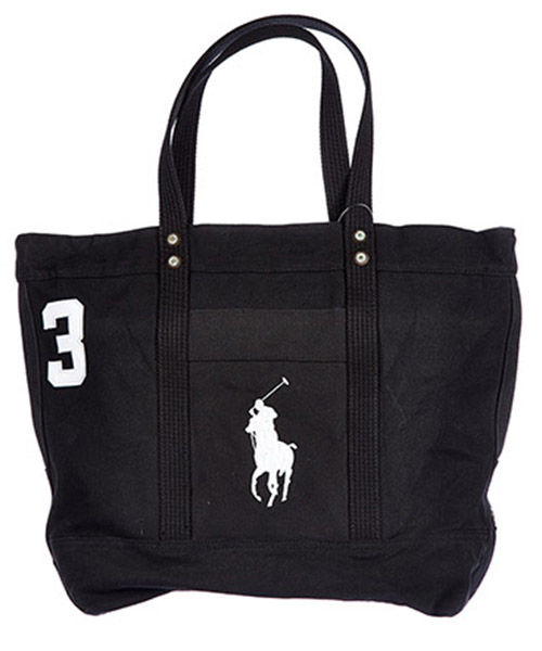 Shopping Bag Polo Ralph Lauren A92 AL336 C5079 V003 nero