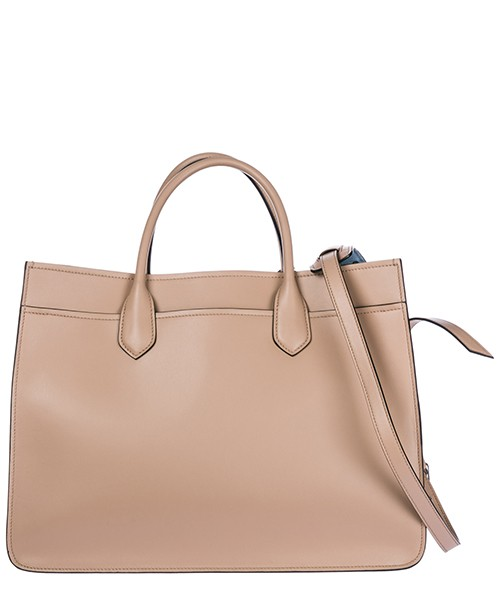 Women's leather handbag shopping bag purse city secondary image