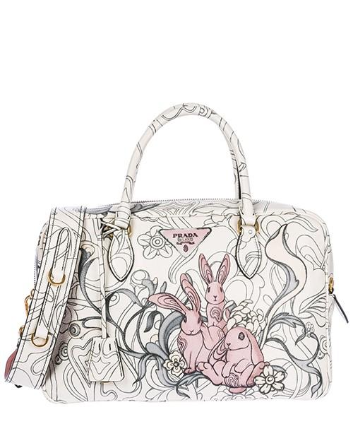 Handtasche Prada 1BB095 2AEO F0384 opaline